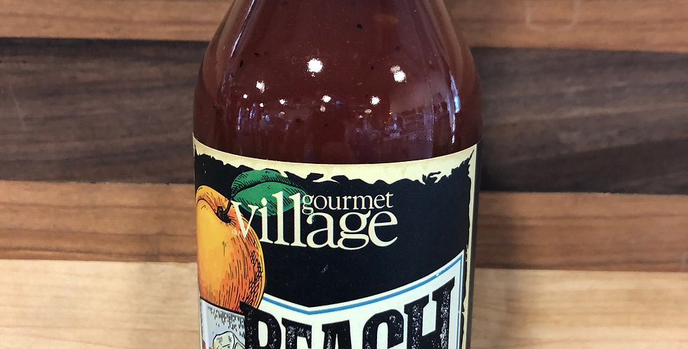 Gourmet Village: Peach Bourbon BBQ Sauce(350ml)