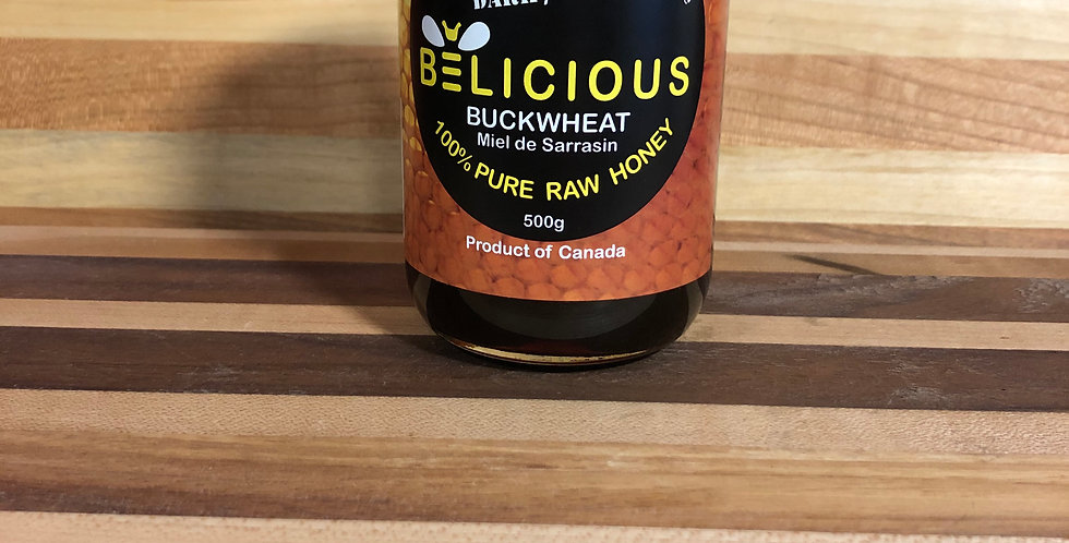 Belicious: Buckwheat honey