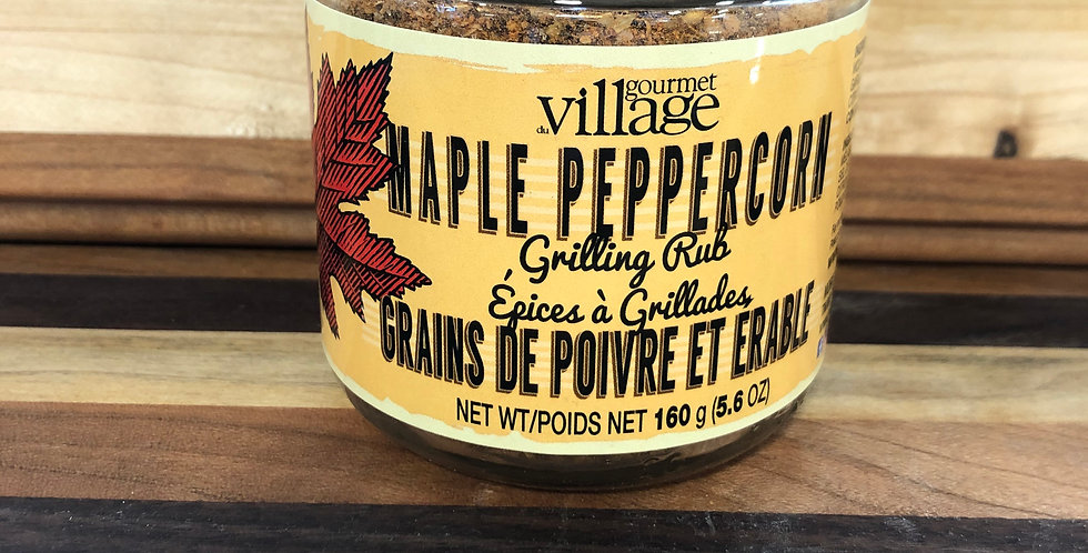 Gourmet Village: Maple Peppercorn Grilling Rub(160G)