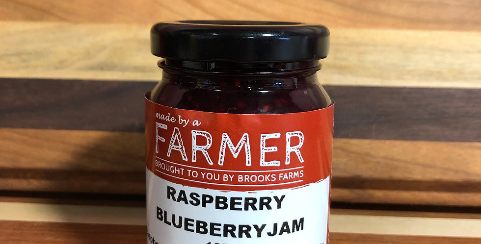 Brooks Farms Raspberry Blueberry Jam (125ml)