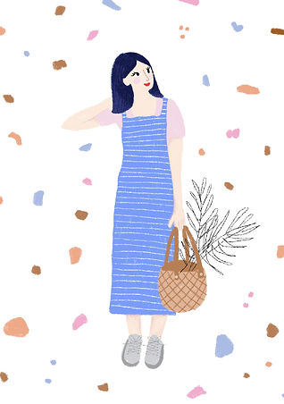 katie byrne market illustration