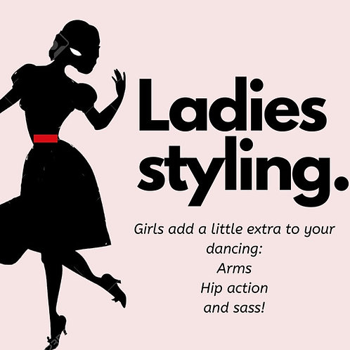 Ladies Latin Styling