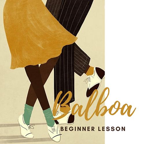 Beginner Balboa