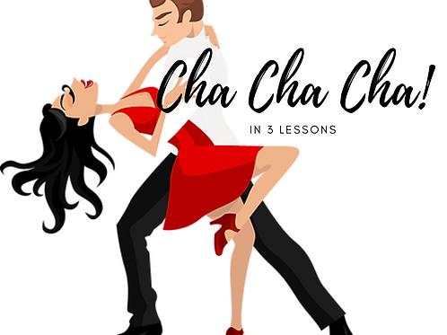 Improver Cha Cha Cha Lessons