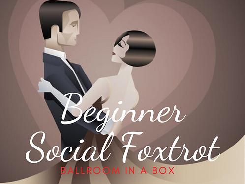 Beginner Social Foxtrot