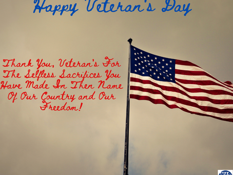 Happy Veteran's Day!!!