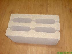 Керамзитобетоный блок 1