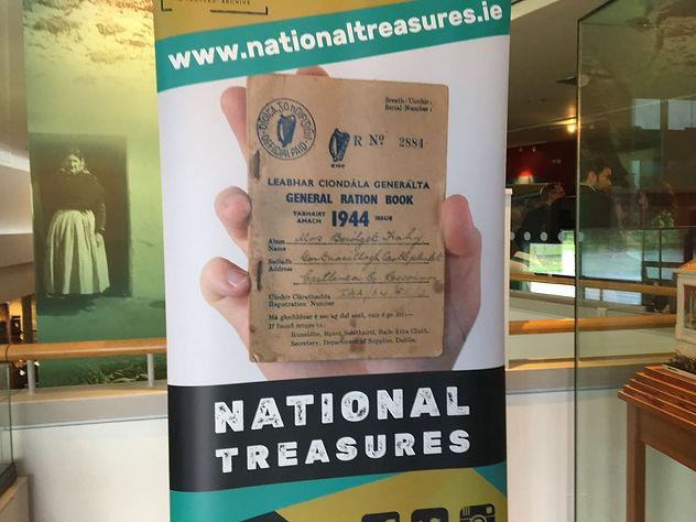 National Treasures Branding