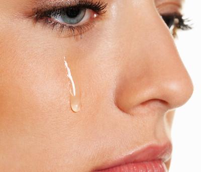 Tränen reinigen die Seele