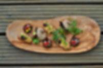 Maris Algen Rezept gefüllte Champignons, vegan