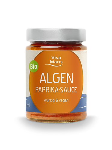 Viva Maris Algen Paprika Sauce, BIO, vegan, 300ml