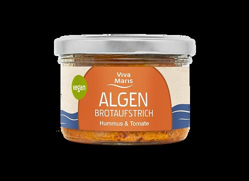 Viva Maris Algen Brotaufstrich Hummus & Tomate, 180 g, vegan