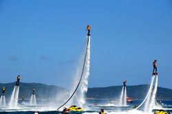 World record Flyboard Cavalaire (Fr)