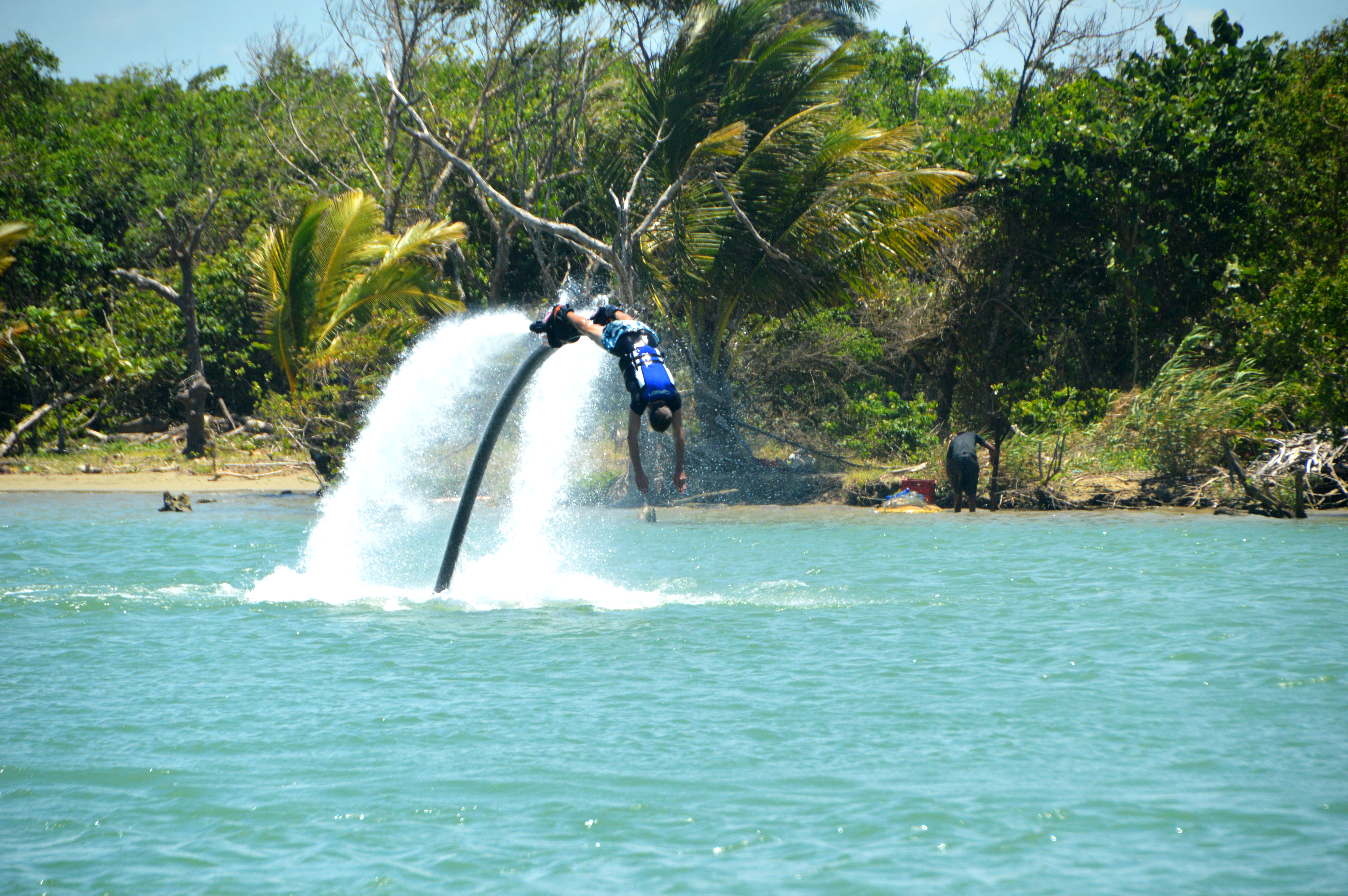 Flyboard La Boca de Yasica