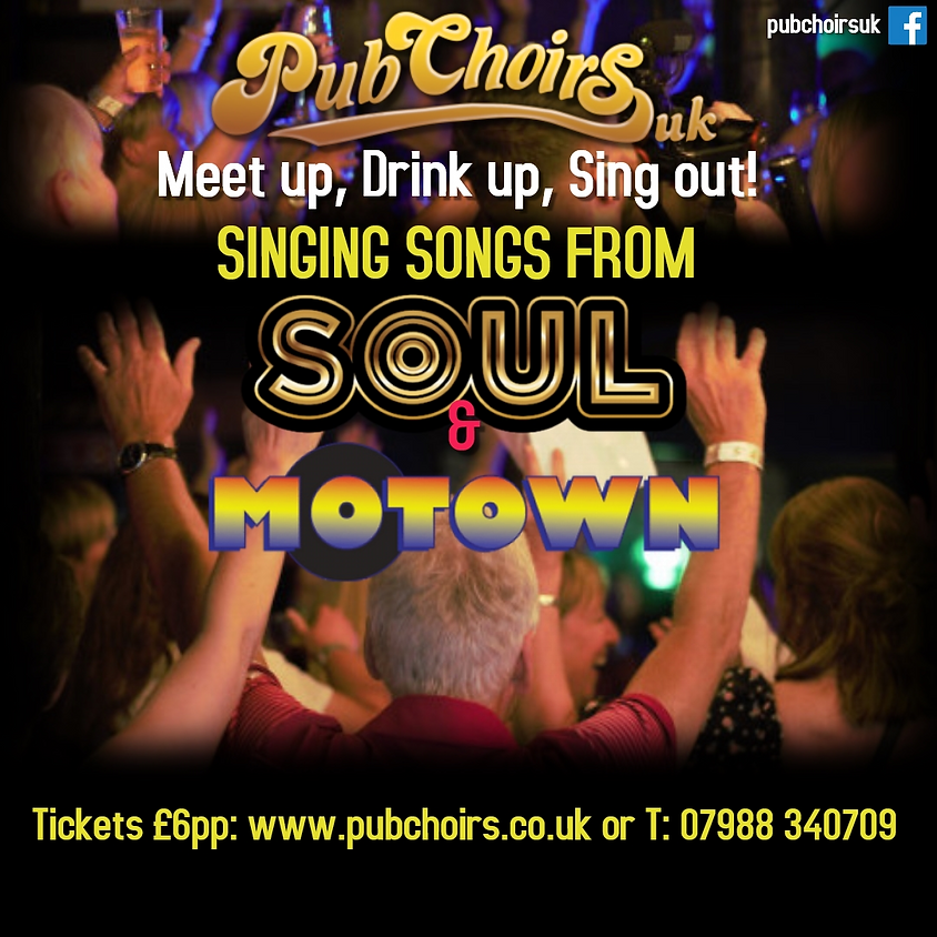 Sing Songs from Soul and Motown - Birmingham