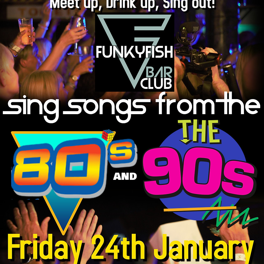 Sing Songs from 80's and 90's - Brighton