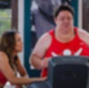mc on treadmill with mish.JPG