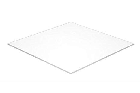 7316 Plexi Glass 3'x4' White