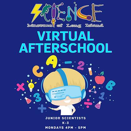 Virtual Afterschool Graphic (Junior Scie