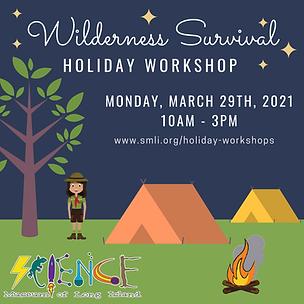 Wilderness Survival Holiday Workshop 3.2
