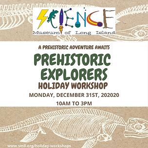 Prehistoric Explorers Holiday Workshop 1