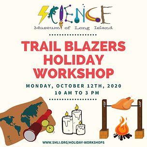 Trail Blazers Holiday Workshop 10.12.202