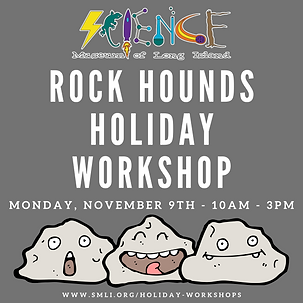 Rock Hounds Holiday Workshop 11.9.2020 (