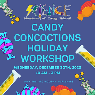 CANDY CONCOCTIONS HOLIDAY WORKSHOP 12.30
