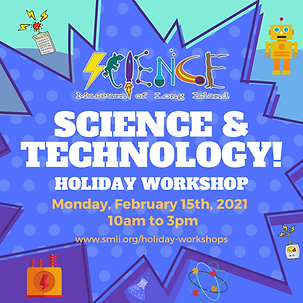 Science & Technology  Holiday Workshop 2