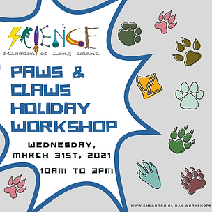 Paws and Claws Holiday Workshop 3.31.202