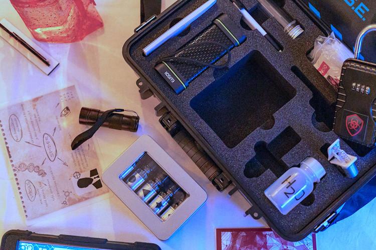 escape room action pack prop