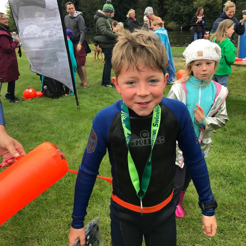 Children Open water swimming