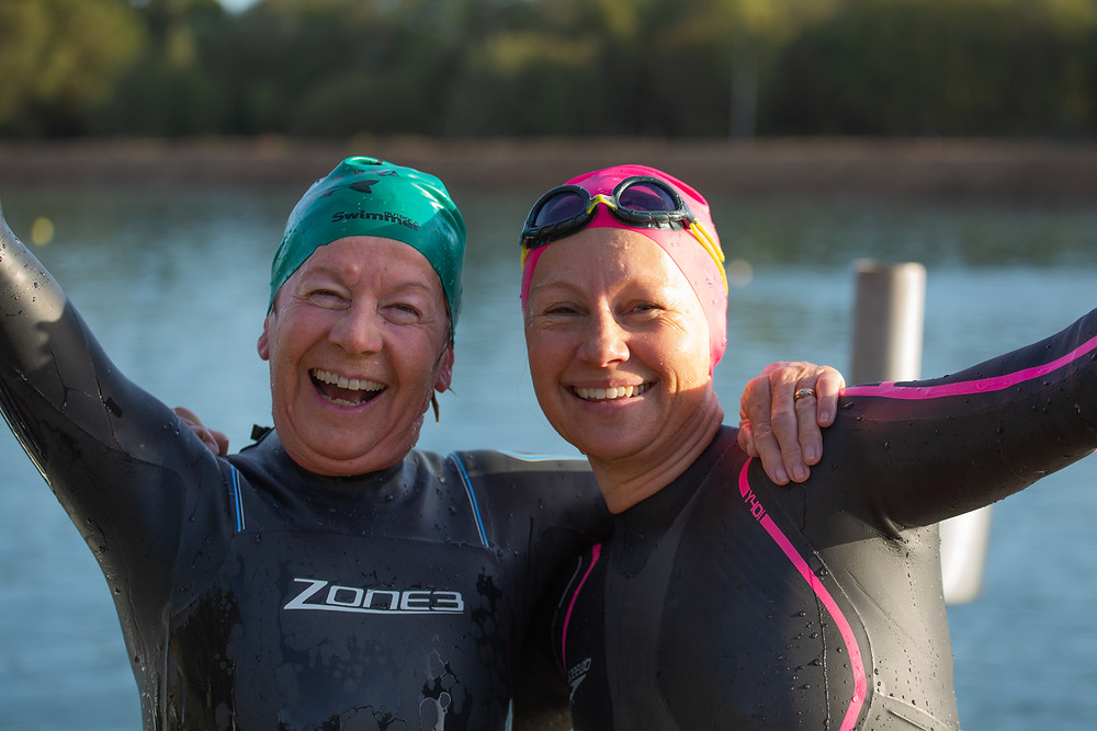 Benefits of open water swimming.