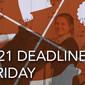 JBE 2021 Deadline This Friday!