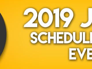 2019 JBE Schedule Released!
