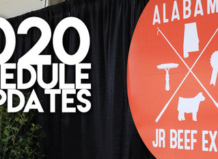 JBE Schedule for 2020
