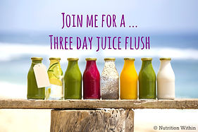 Three Day Juice Flush - Wanna Join Me!