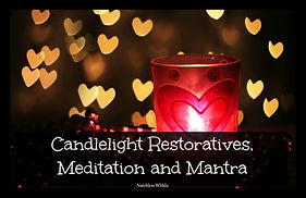 Candlelight yoga, meditation and mantra