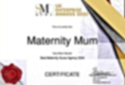 Best Maternity Nurse Agency Award