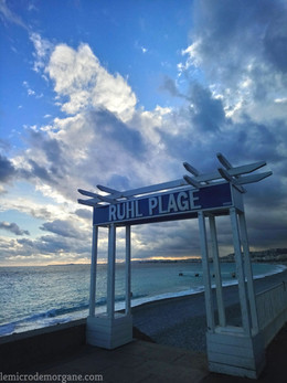 Promenade Ruhl Plage  Nice