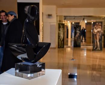 Le Penseur, Jean-François Bollié |Galerie éphémère | Alain L-Jacquet
