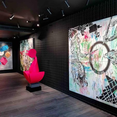 Exposition Artiste peintre Designer | Aoun Vestri | Saint Jean Cap Ferrat | Le micro de Morgane