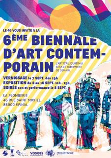 Biennale d'art contemporain | Association Le 46 | La Plomberie | Epinal | Nice | Le micro de Morgane