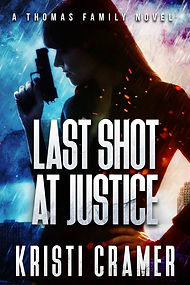 Last Shot at Justice by Kristi Cramer Suspense author