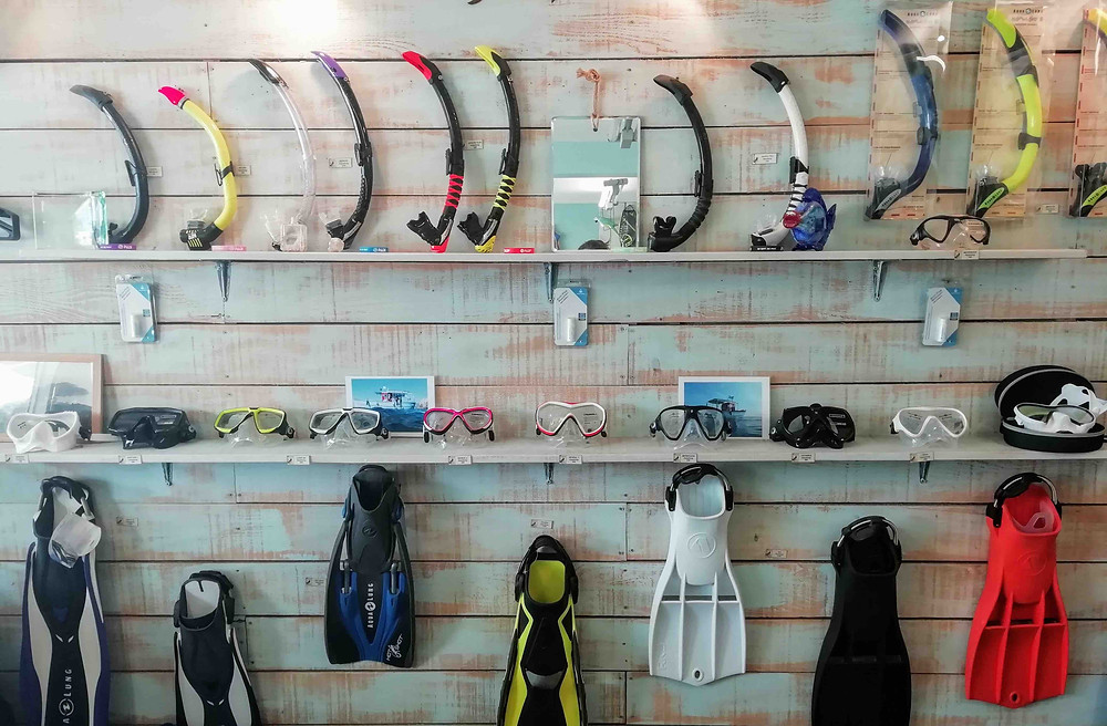 Boutique de plongée | Cap Ferrat Diving |Morgane Bihoreau