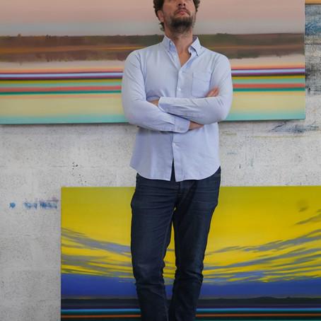Olivier Masmonteil | Artiste peintre | Pays Basque | Le micro de Morgane