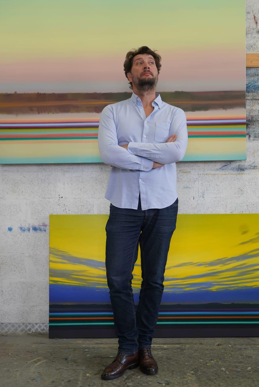 Olivier Masmonteil artiste peintre |Pays Basque |Le micro de Morgane