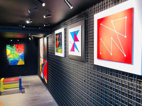 Management communication | Galerie Aoun & Vestri | Cap Ferrat | Morgane Bihoreau