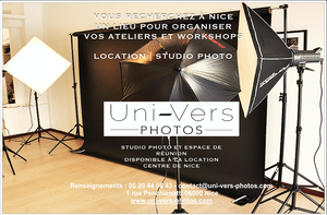 Location de studio photo  Nice  Uni-Vers-Photos   le micro de morgane