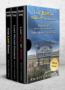 The Boys of Syracuse, Kansas Books 1-3 PG-13 edition